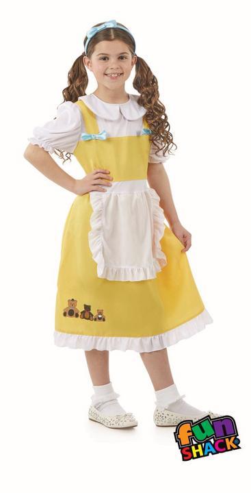 Goldilocks Girl's Fancy Dress Costume Thumbnail 2
