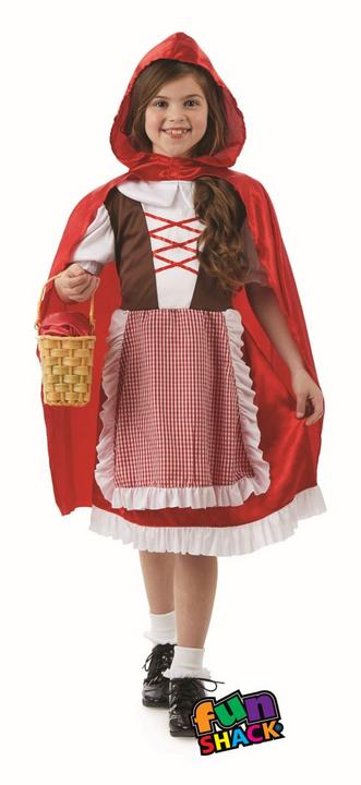 Red Riding Hood Girls Fancy Dress Costume Thumbnail 2