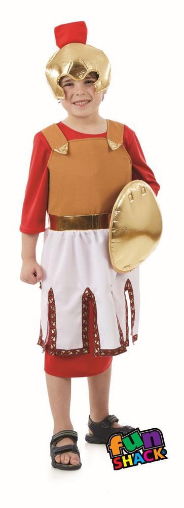 Roman Soldier Boy's Fancy Dress Costume