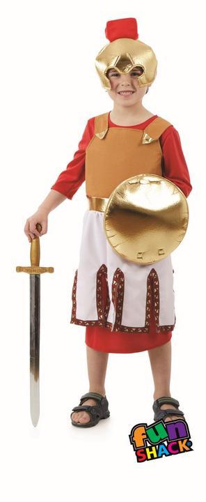 Roman Soldier Boy's Fancy Dress Costume Thumbnail 2