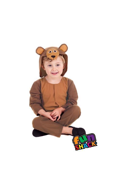 Bear Toddler Fancy Dress Costume Thumbnail 1
