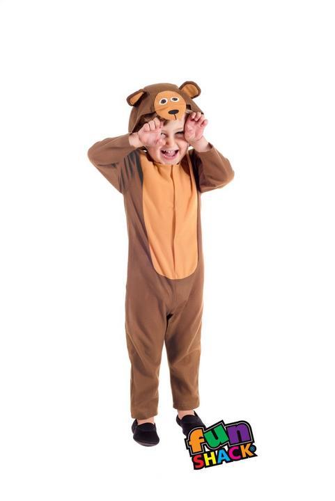 Bear Toddler Fancy Dress Costume Thumbnail 2