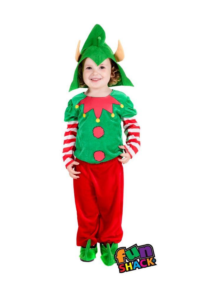 Elf Toddler Fancy Dress Costume