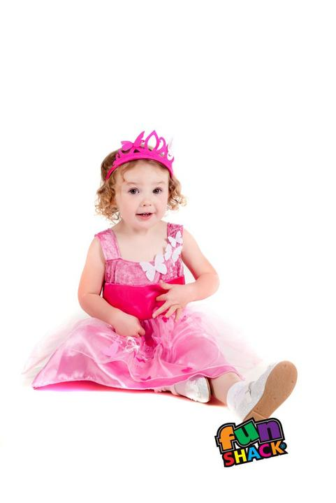 Princess Butterfly Toddler Fancy Dress Costume Thumbnail 1