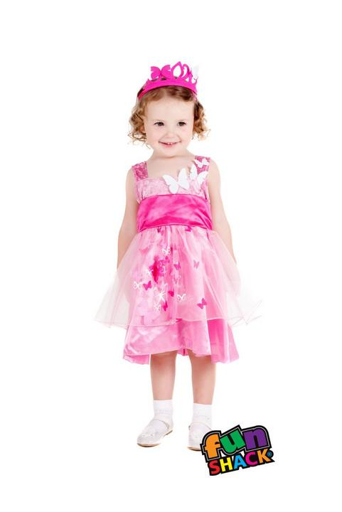 Princess Butterfly Toddler Fancy Dress Costume Thumbnail 2