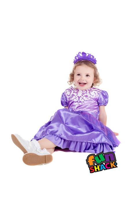 Princess Amethyst Toddler Fancy Dress Costume Thumbnail 1