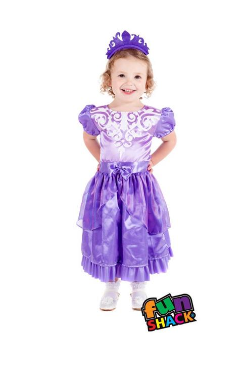 Princess Amethyst Toddler Fancy Dress Costume Thumbnail 2
