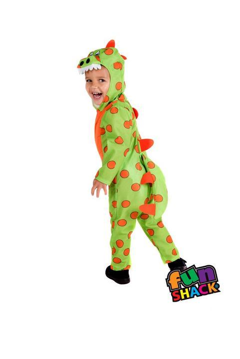 Dinosaur Toddler Fancy Dress Costume Thumbnail 2