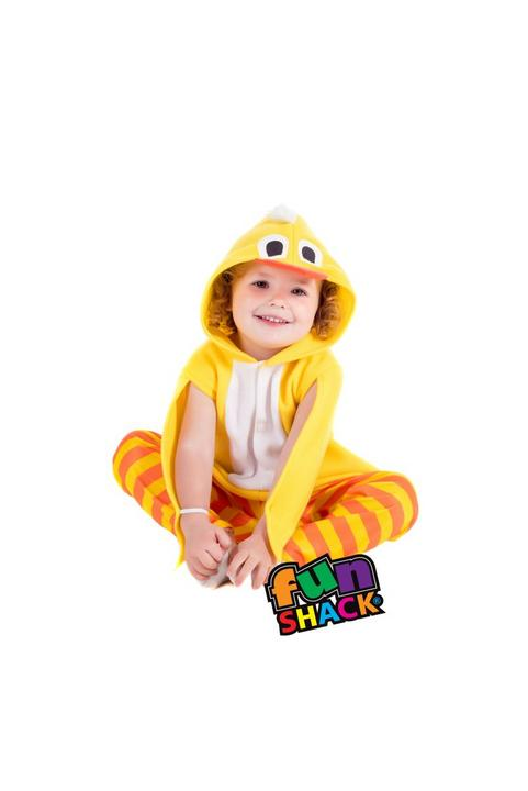 Chick Toddler Fancy Dress Costume Thumbnail 1