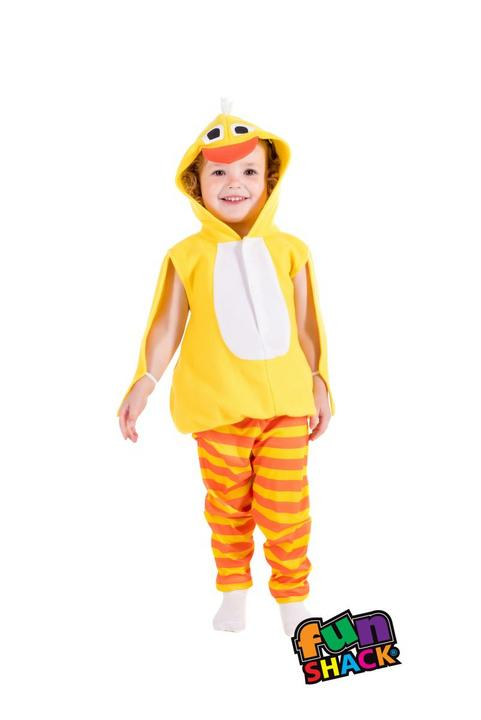Chick Toddler Fancy Dress Costume Thumbnail 2