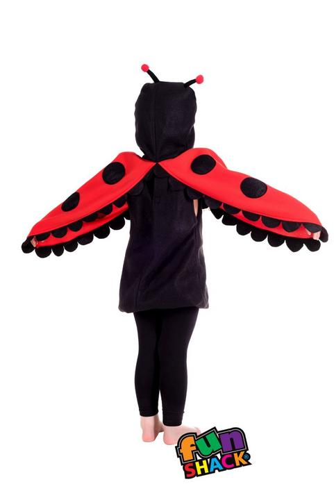 Lady Bug Toddler Fancy Dress Costume Thumbnail 1