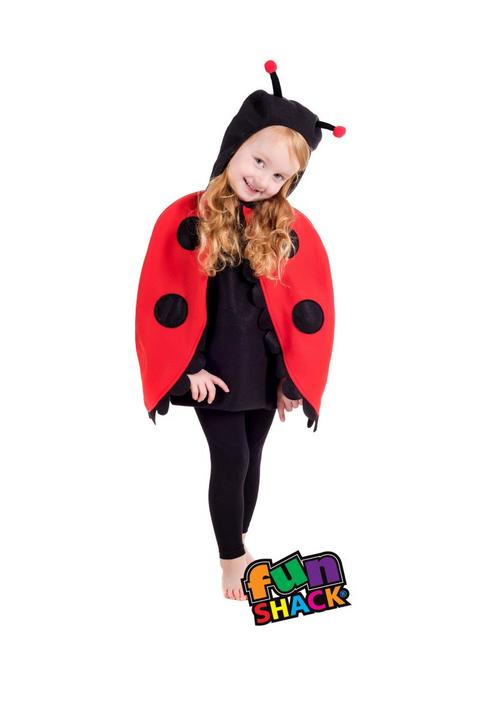 Lady Bug Toddler Fancy Dress Costume Thumbnail 2