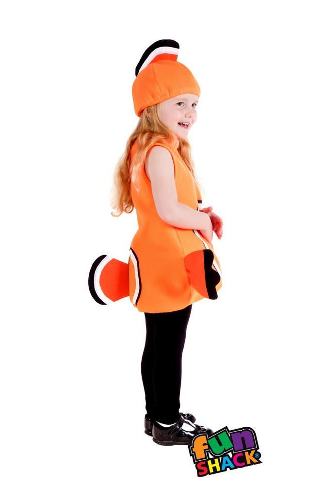 Clown Fish Toddler Fancy Dress Costume