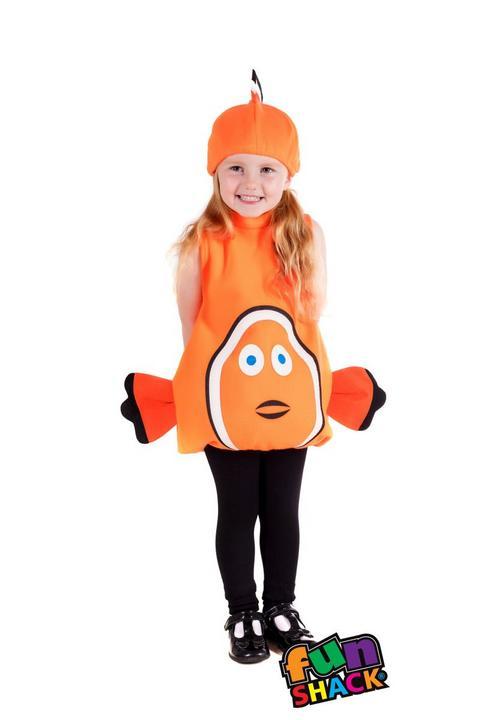 Clown Fish Toddler Fancy Dress Costume Thumbnail 2