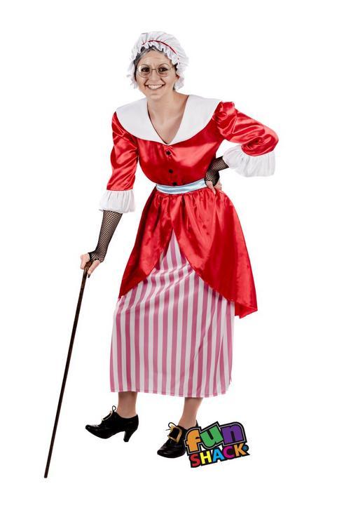 Old Fairy Tale MotherWomen's Fancy Dress Costume Thumbnail 1