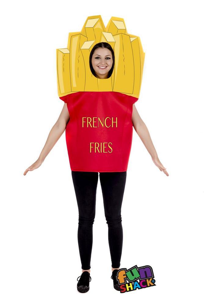 Fries Fancy Dress Costume