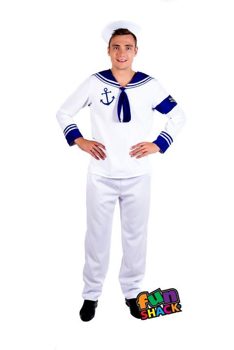 Sailor Men's Fancy Dress Costume Thumbnail 1