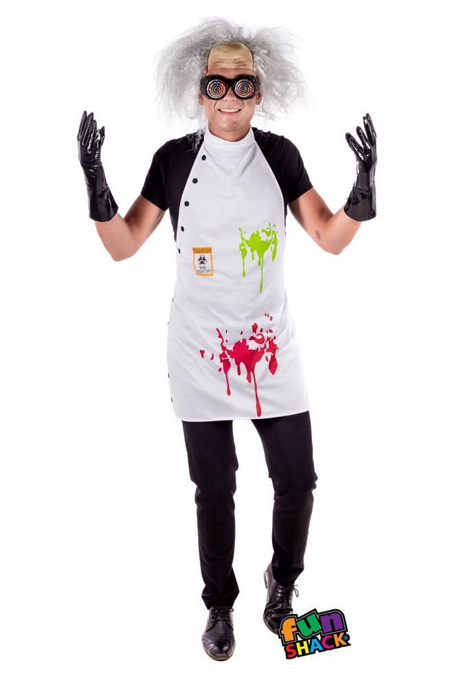 Mad Scientist Kit Fancy Dress Costume
