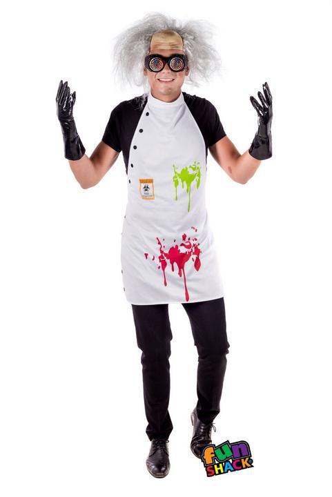 Mad Scientist Kit Fancy Dress Costume Thumbnail 1