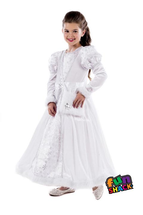Royal Ball Gown Isabella Girl's Fancy Dress Costume Thumbnail 1