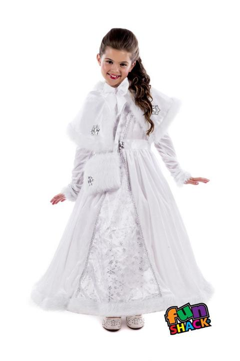 Royal Ball Gown Isabella Girl's Fancy Dress Costume Thumbnail 2