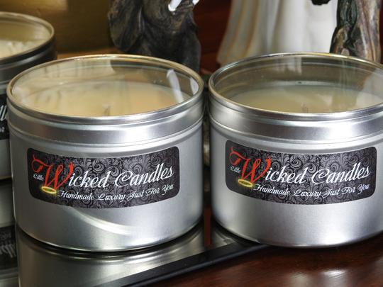 Scented Candle - Crisp Christmas Morning  Thumbnail 4