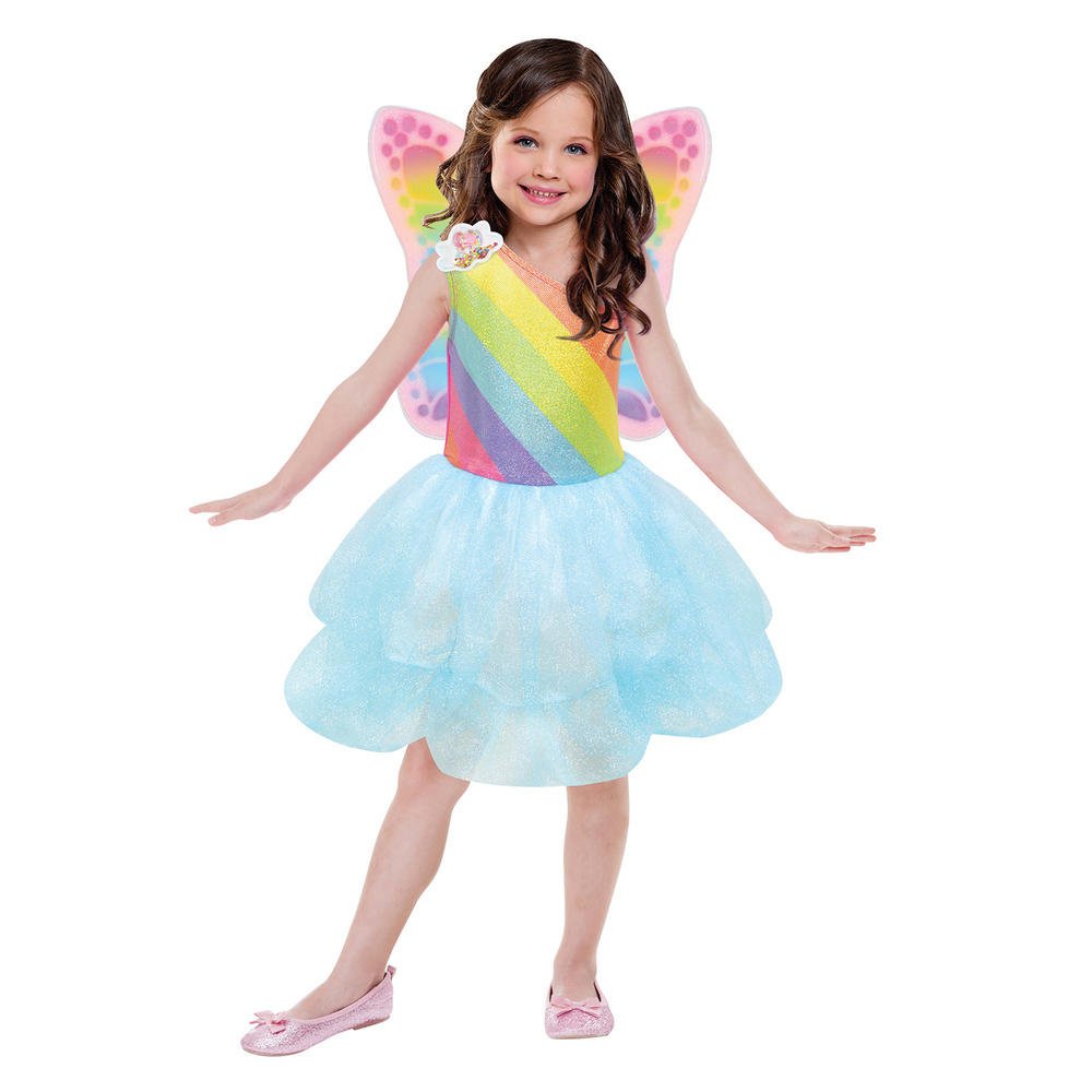 Barbie Cloud Tutu Dress Girl's Fancy Dress Costume