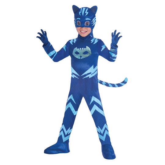 PJ Masks Catboy Boy's Deluxe Fancy Dress Costume Thumbnail 1