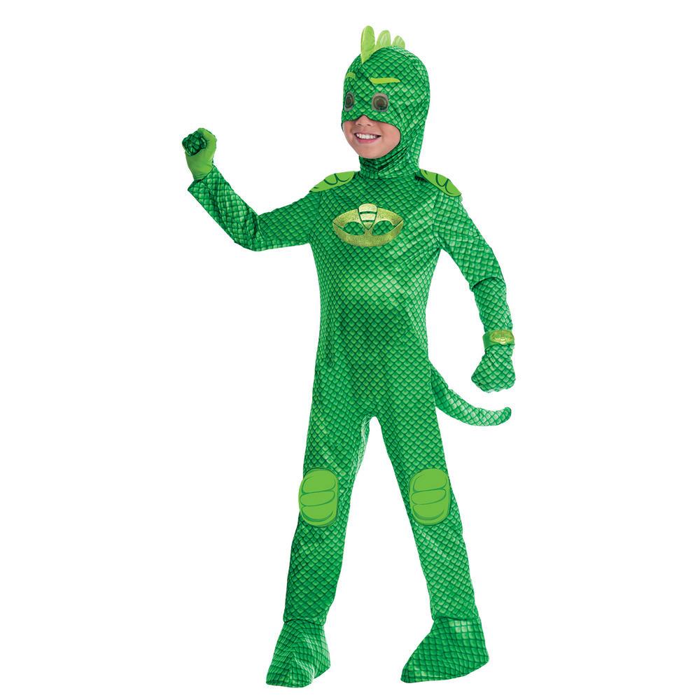 PJ Masks Gekko Boy's Deluxe Fancy Dress Costume