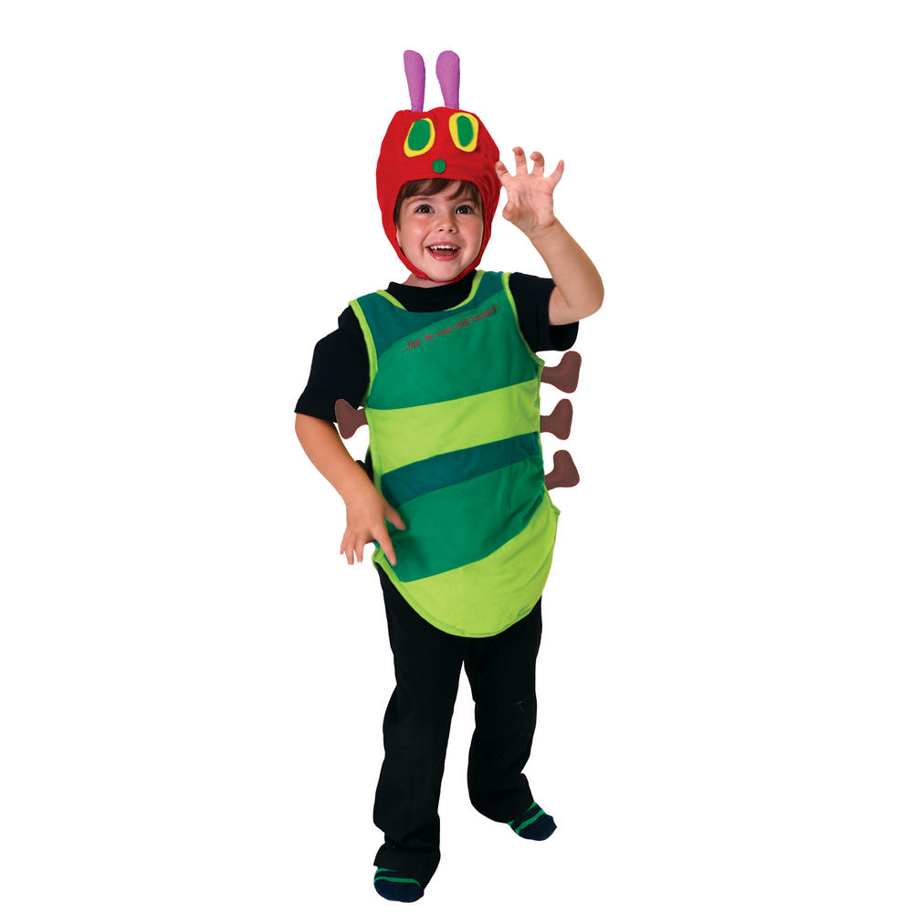 Girls boys Hungry caterpillar costume kids school book week fancy dress story