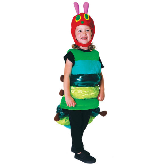 Very Hungry Caterpillar Deluxe Fancy Dress Costume Thumbnail 1
