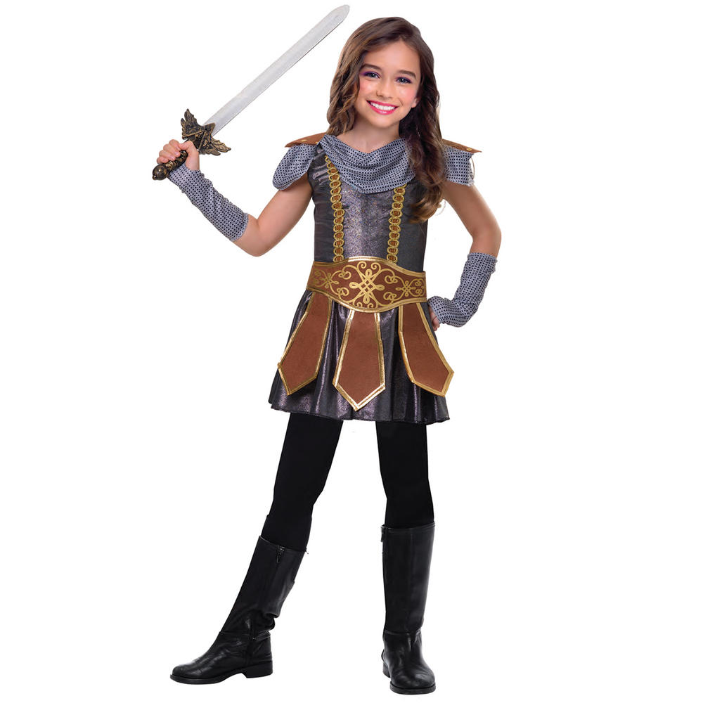 Warrior Cutie Girls Fancy Dress Costume