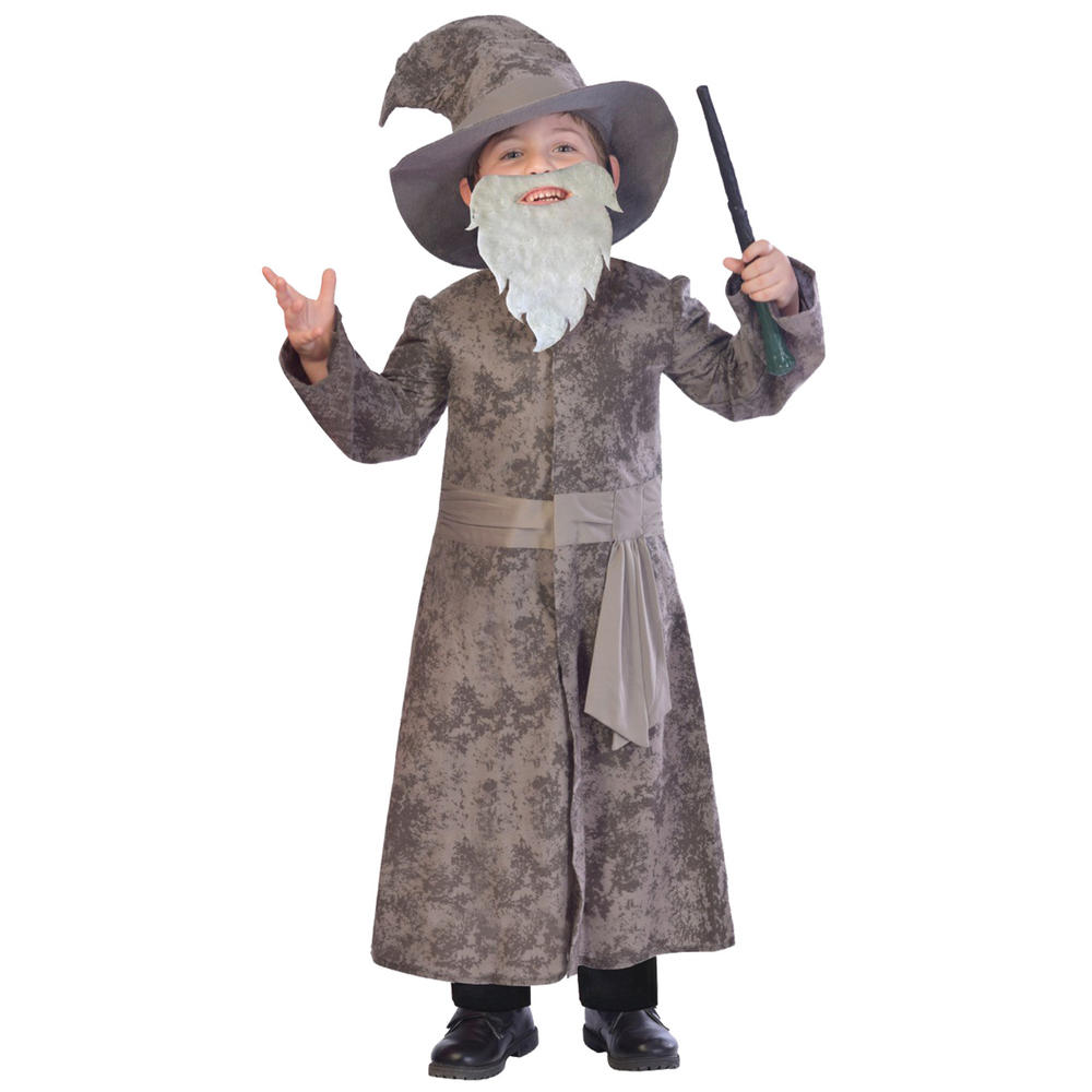 Boys Wise Wizard Costume Kids School Book week Fairytale Story Childs Outfit
