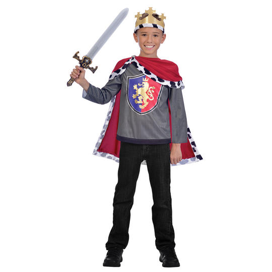 Royal King Boy's Fancy Dress Costume Thumbnail 1