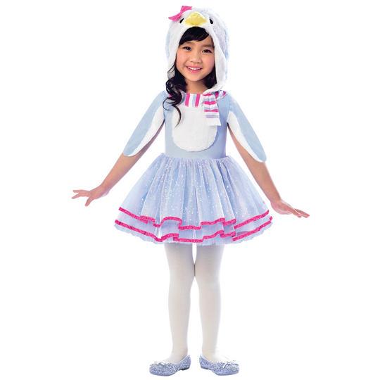 Blue Penguin Girl's Fancy Dress Costume Thumbnail 1