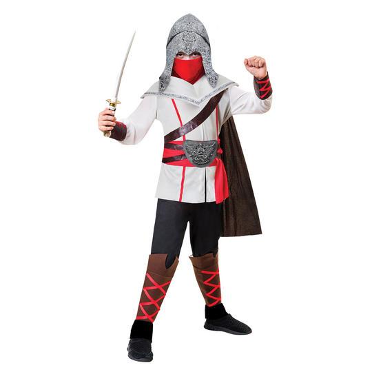Assassin Ninja Boy's Fancy Dress Costume Thumbnail 1