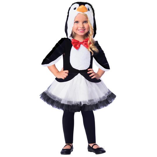 Penguin Girl's Fancy Dress Costume Thumbnail 1