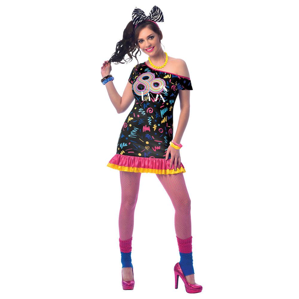 80s Girl Fancy Dress Costume
