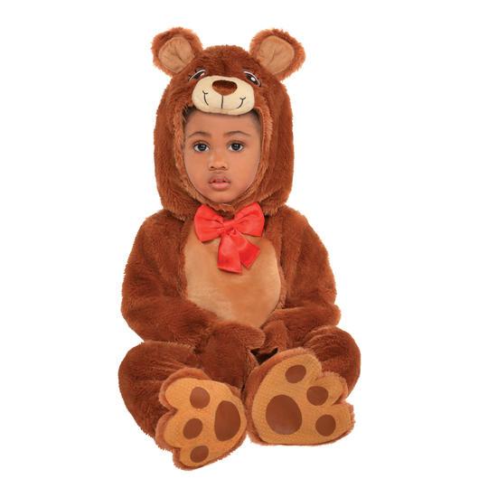 Boys Girls Cubble Bear Costume Kids Animal Fancy Dress Outfit Thumbnail 1