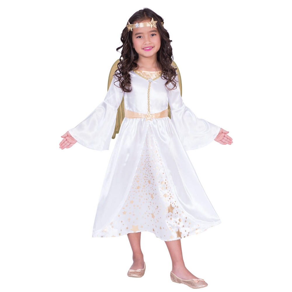 Angel Girl's Fancy Dress Costume