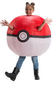 Pokeball Pokeman Inflatable costume Girls Boys Fancy dress Outfit Licenesed Kids