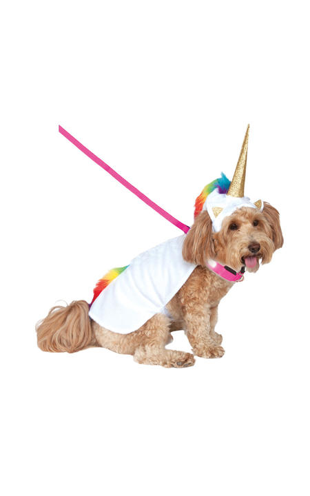 Light Up Collar Unicorn Costume Thumbnail 1