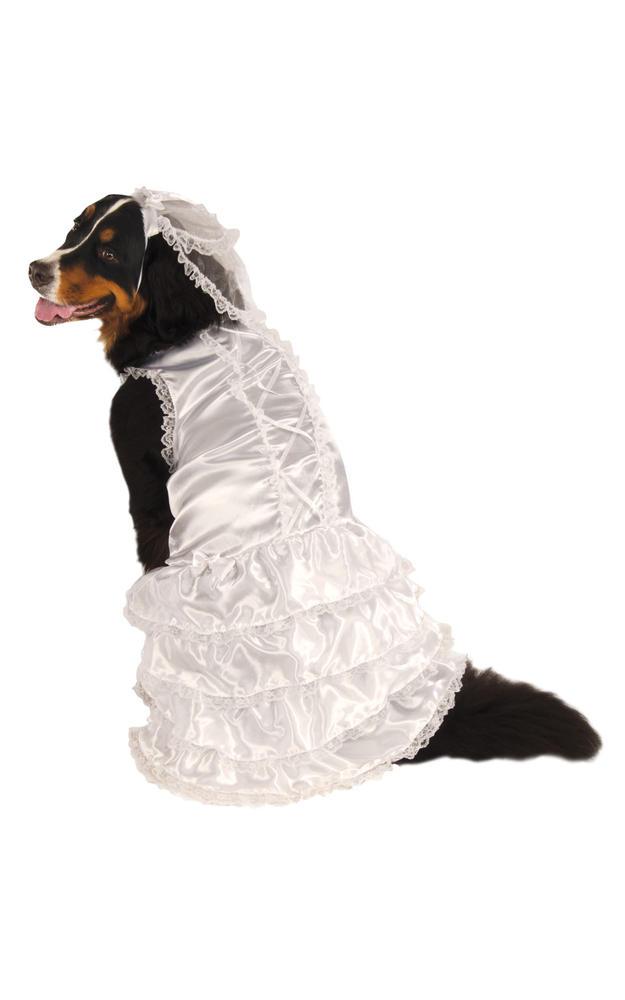 XXXL Bride Pet Costume