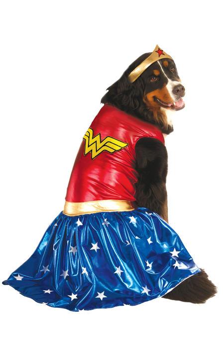 XXXLWonder Wonman Pet Costume Thumbnail 1