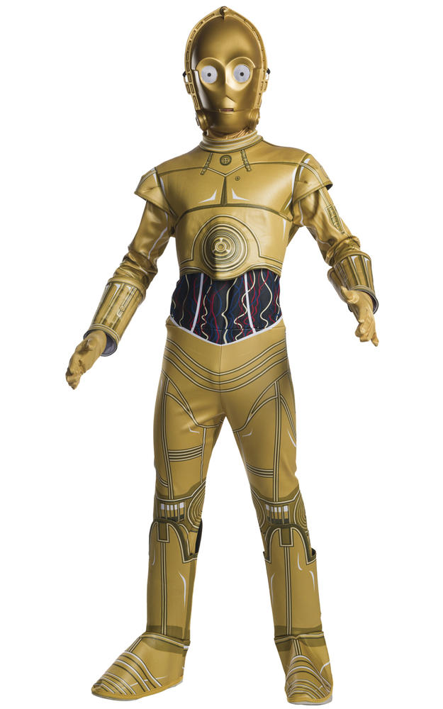 C3PO Star Wars Disney Boy's Fancy Dress
