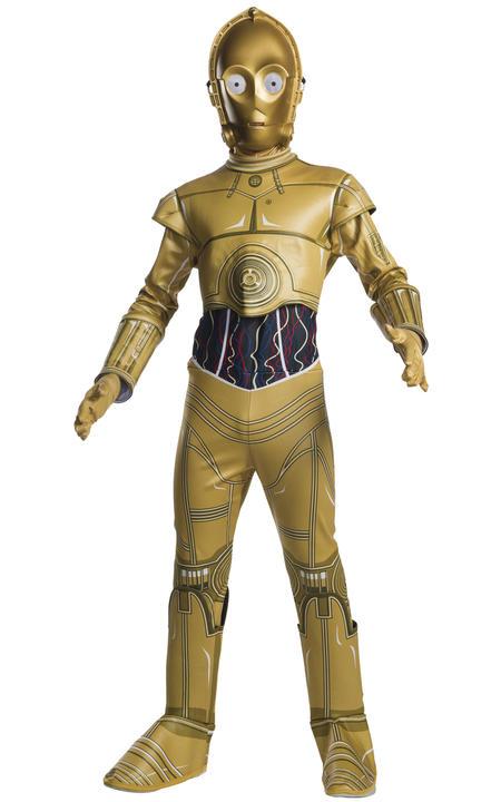 C3PO Star Wars Disney Boy's Fancy Dress Thumbnail 1