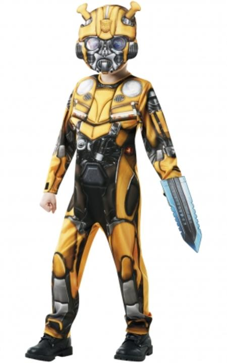 Bumble Bee Deluxe Transformers Fancy Dress Thumbnail 1