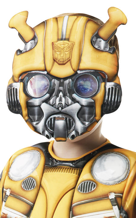Bumble Bee Deluxe Transformers Fancy Dress Thumbnail 3