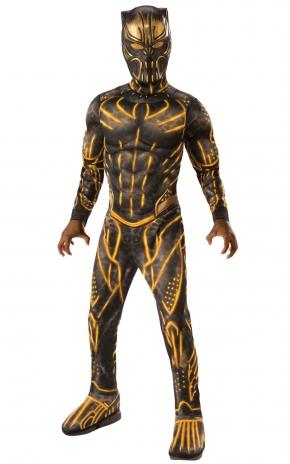 Killmonger Battle Deluxe Costume Thumbnail 1