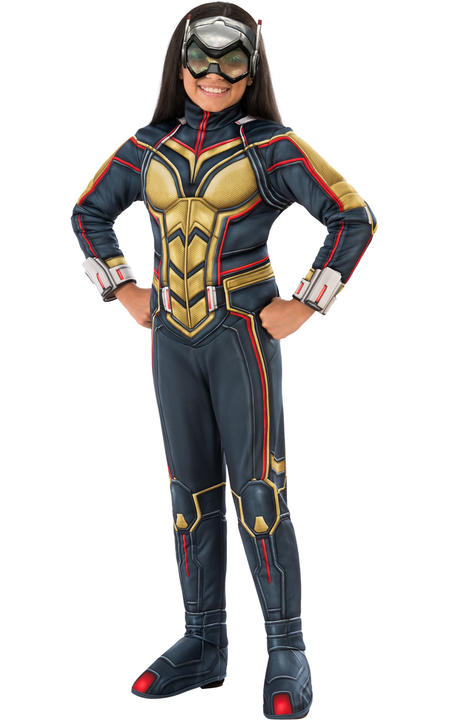 Wasp  Girl's Deluxe Fancy Dress Costume Thumbnail 1